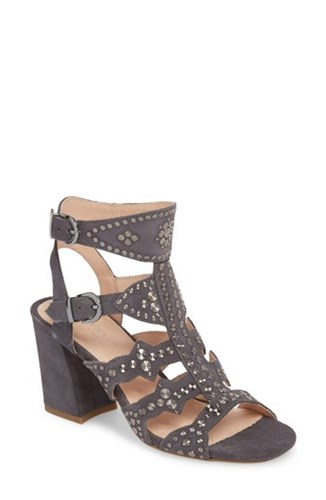 Demin Cosmo NEW Sandal YORK CECELIA Suede Studded PXvTvA