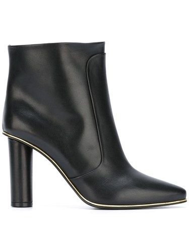 Balmain Quilted High Black Knee Boots rrqwfg8