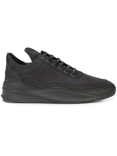 Filling Pieces Sky Basic Low Top Sneakers Black YY5Ym5ZL