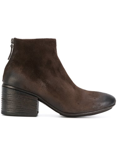 Marsèll Zipped Ankle Boots Leather Rubber Brown 3t48KIBVt