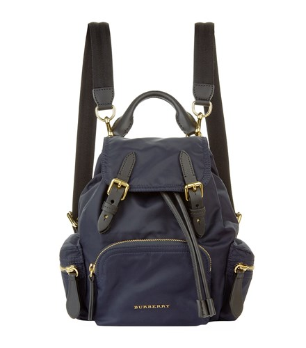 Burberry Small Buckled Backpack Blue xVjaEGqR