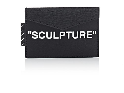 Off-White c/o Virgil Abloh Small Leather Pouch Black Z5mspXOf