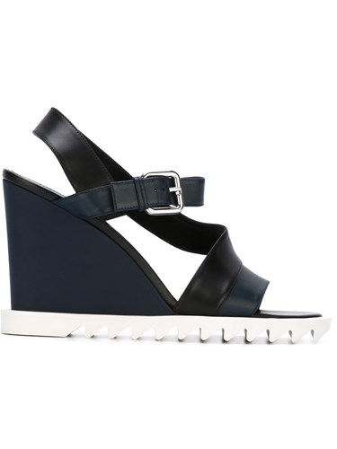 Jil Sander Wedged Sandals Blue rCJCKDIdl