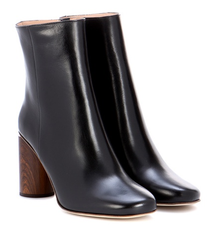 Acne Studios Allis Leather Ankle Boots Black wV3RG