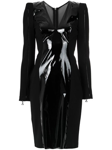 Tufi Duek Panelled Dress Black g9nzz7l