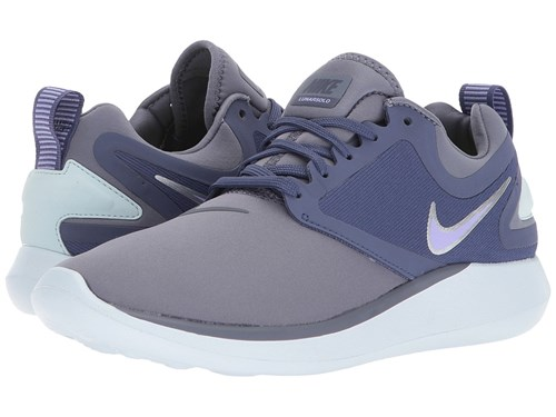 Nike Lunarsolo Light Carbon Purple Pulse Blue Recall Women's Running Shoes RueWb8