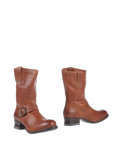Frye Ankle Boots Cocoa j7YezgLF5J