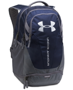 Under Armour Men's Ua Hustle 3.0 Backpack Midnight Navy Grey wCJ6ywv