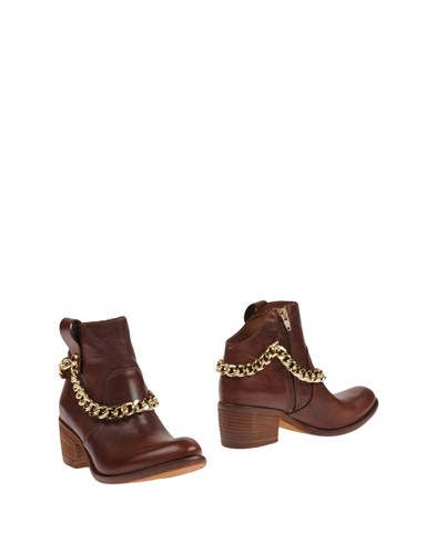 Divine Follie Ankle Boots Brown 24SnFyTDpf