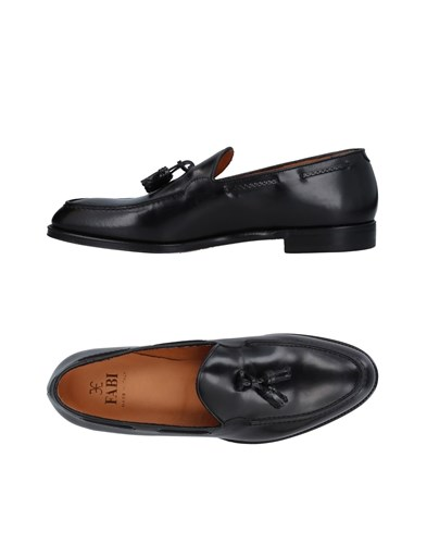 Fabi Loafers Black 7MhUm