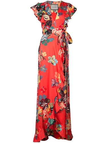 Flared Floral Floral Dress Alexis Flared Alexis Alexis Dress qHwwEdUR