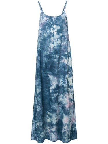 NSF Cherrie Maxi Dress Blue Vvyqx7wM82