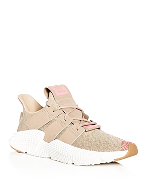 adidas Men's Prophere Knit Lace Up Sneakers Khaki LbSXkomG