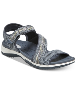 Dr. Scholl's Daydream Sandals Women's Shoes Light Wash Blue Mesh AXIe0