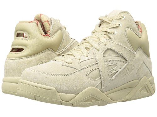 Cream Red The Cage Shoes Men's Yellow Fila UpqEwfc