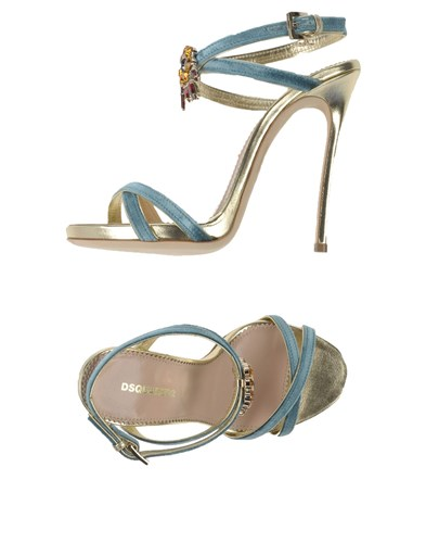 DSquared Dsquared2 Sandals Sky Blue XCqYbBi7V