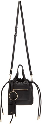 Versace Black Small Daydreamer Drawstring Bag AgKEr2
