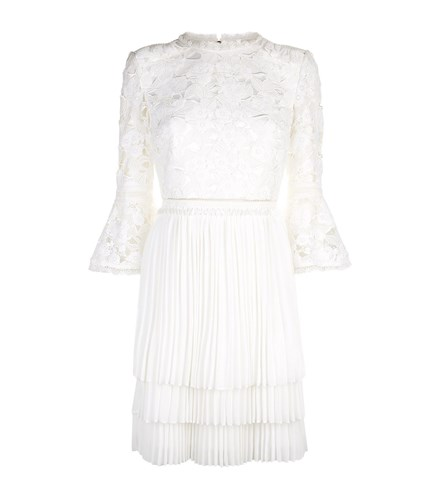 Ted Baker Stefoni Lace Dress Beige gZr9hvmbq