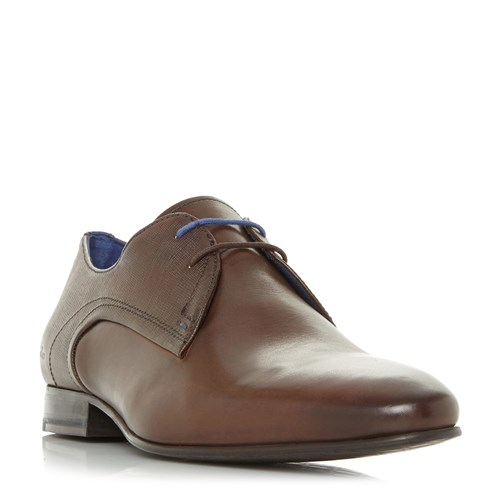 Ted Baker Peair Embossed Lace Up Derby Shoes Brown FfJ63vpq8i