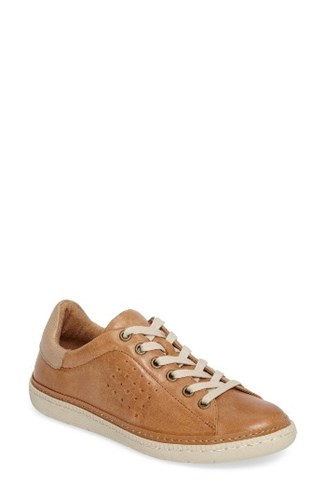 Sofft Women's Arianna Sneaker Whiskey Parchment Leather 8r3qgB0E7