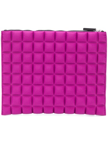 No Ka' Oi Top Zip Medium Pouch Pink And Purple 8zKvaNxIbe
