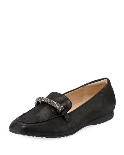 Horsebit Metallic Karl Loafer Lagerfeld Quigley Black R1qwqA