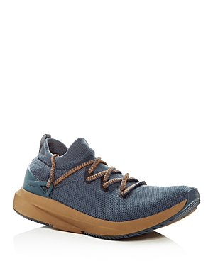 Brown Knit Lace Brandblack Sneakers Kaze Navy Men's Up WUqWwBgp0
