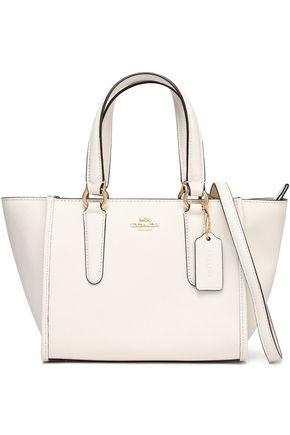 Coach Textured Leather Tote Ivory 2GdT1VQAY