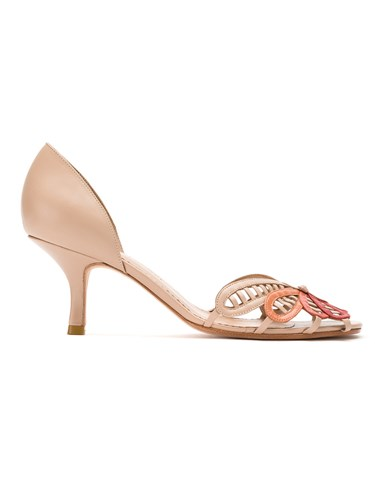 Neutrals Sarah Leather Quero Chofakian Quero Nude And Pumps Pq7UOwqzS