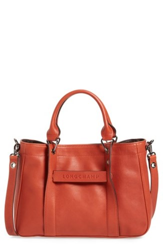 Longchamp 'Small 3D' Leather Tote 0H4wZhtc