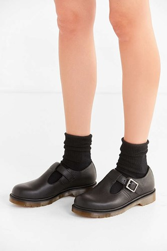 Dr. Martens Polley Virginia Mary Jane Shoe Black lx4AfCZ