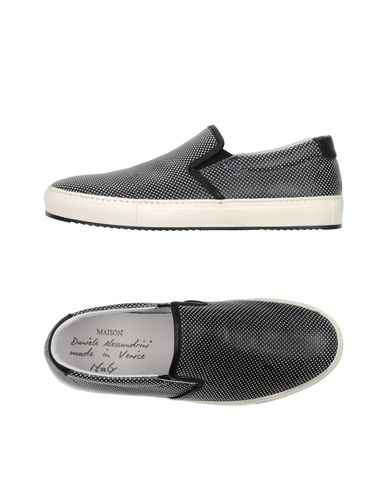 Daniele Footwear Alessandrini Men Black Tops And Low Trainers q5qrS