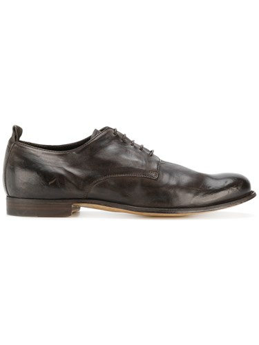 Shoes Officine Leather Creative Up Derby Leather Calf Brown Lace wIIRqpO