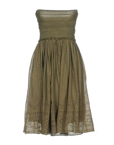 Aniye By Short Dresses Military Green SNAAO
