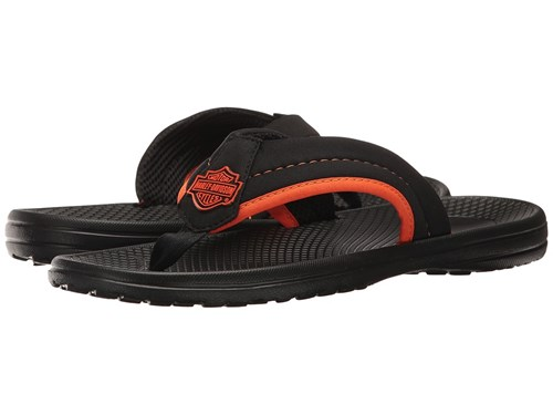 Harley-Davidson Banks Black Sandals gMOD7NW