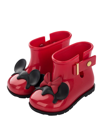 Mini Melissa Girls' Sugar Disney Rainboot Red UqnBw