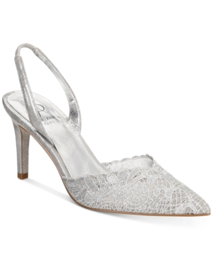 Adrianna Papell Hallie Pumps Women's Shoes Silver urhjU4hT