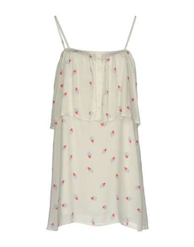 Girl by Band of Outsiders Short Dresses Ivory aw85vKvYj