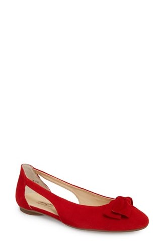 Paul Green Pacific Flat Red Suede 7udU3wdoQ