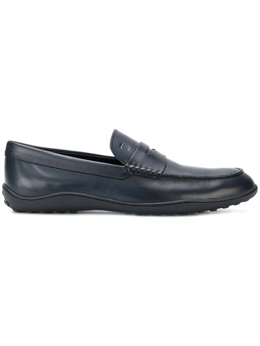 Tod's Classic Loafers Blue IzArZV
