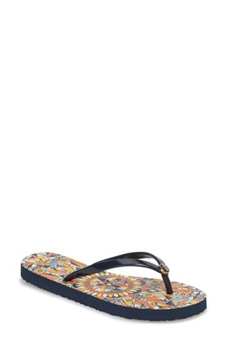 Navy Flop Flip Geo Thin Tory Burch Psychedelic 'S wRqWSz