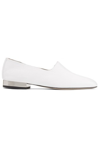 Paul Andrew Ive Leather Loafers White ORExSp