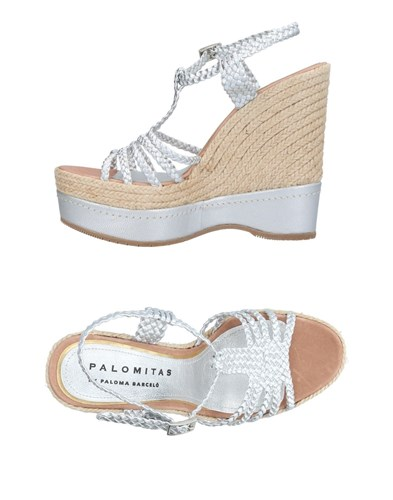 Palomitas By Paloma Barcelo Sandals Silver jdXYlAQl