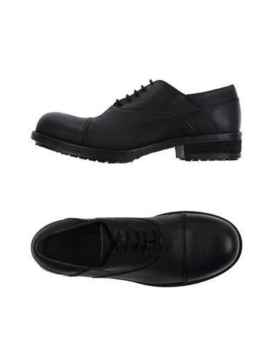GIOVANNI CIARPELLA Lace Up Shoes Black Qa1ueTppvz