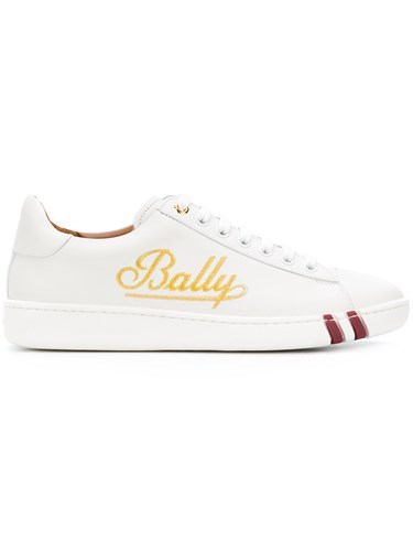 Bally Wiera Lace Up Sneakers White 6nBuM0