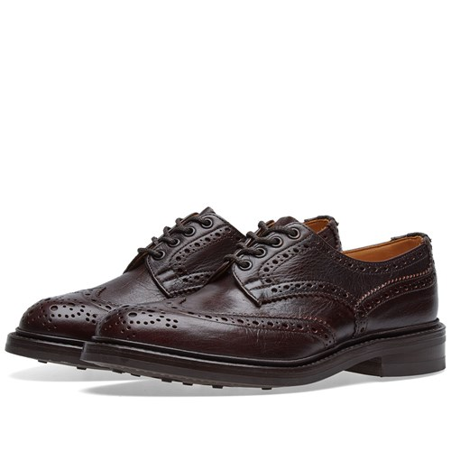 Tricker's Bourton Brogue Burgundy jDHQMp