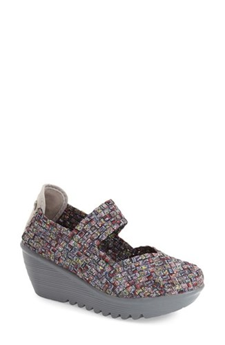 Bernie Mev Women's Mev. 'Lulia' Wedge Ice Fabric LYidk2uAf