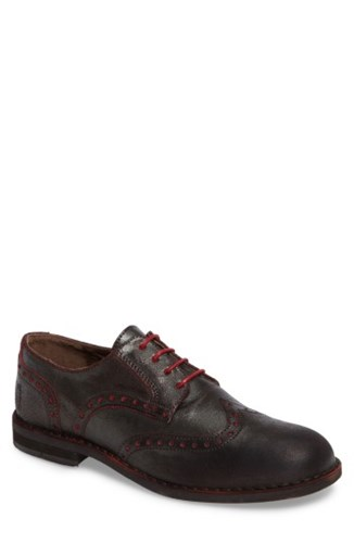 Fly London Men's Idal Wingtip Brown Red 85bSVhU