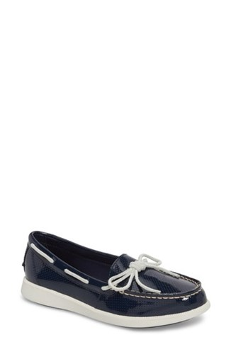 Sperry Oasis Boat Shoe Navy Patent Leather k9pKO