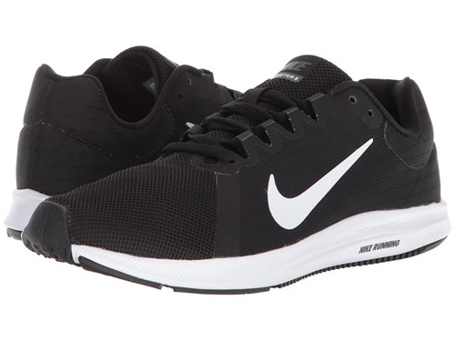 Nike Downshifter 8 Black White Anthracite Running Shoes XvGyQ